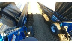Burchland - Model XTS-DR - Double Row Weed Barrier Installer