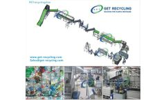 G.E.T Recycling - High quality PET recycling line