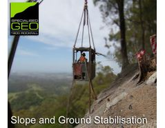 Slope and Ground Stabilisation Experts