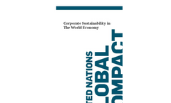 United Nations Global Compact (UNGC) Company Profile Brochure