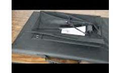 Sungold 120W portable solar panel Video