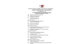 UK Tomato Conference Program 2015 Brochure