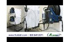 Fluidall SMTS Side Bracket Assembly for Tote-A-Lube Tanks Video