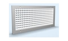 Sezon - Model Z/HV - Air Grilles with Horizontal and Vertical Arrangement of Shutters