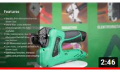 World's first electromechanical driven crimp tool - eForce®