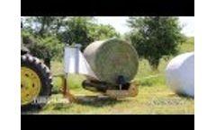 Tubeline Individual Balewrapper - TL1000R Video