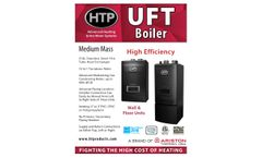HTP - Model UFT - Medium Mass Boiler - Brochure