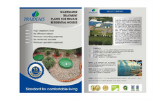 Biological Treatment Plants of Domestic Wastewater for Private Houses Brochure