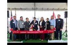 Sunpin Solar 96.75 MWdc ColGreen North Shore Solar Project Ribbon Cutting Event - Mecca CA Video