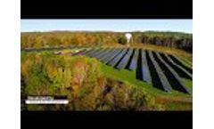 Sunpin Solar - East Acres Solar Farm in Pittsfield, MA Video