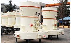 Fote - Model HGM - Ultrafine Grinding Mill