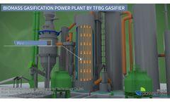 Powermax Modular Biomass Gasification Power Plant Video