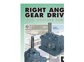Amarillo - Right Angle Gear Drives for Cooling Towers - Brochure