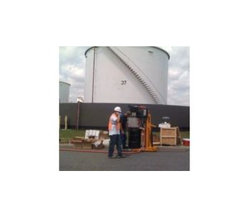Dustless Lead Paint Removal & Nuclear Decon Tools for Power, Oil and Gas Industry - Oil, Gas & Refineries