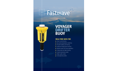 Voyager - Ocean Current Tracking Drifter Buoy Brochure