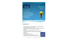 Voyager - Model V3 - Ocean Current Tracking Drifter Buoy Brochure