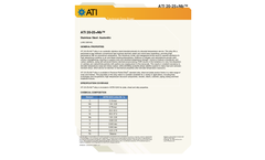 ATI - Model 20-25+Nb - Austenitic Stainless Steels Brochure