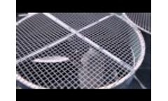BAC cross-flow packing - The heart of a cooling tower.Video