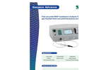 Oxygen and Carbon Dioxide Headspace Gas Analyzer Gaspace Advance Brochure