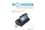 OxySense Portable Oxygen Analyzer - Brochure