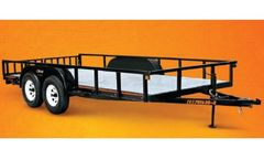 Bison - Model CB-701630-2 SERIES - Utility Trailers