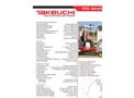Takeuchi - TB108 - Compact Excavators Brochure