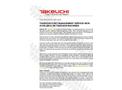 Model TB216 - Compact Hydraulic Excavator Brochure