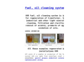 Fuel & Oil Cleaning Systems - Brochure