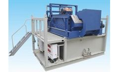 FD Petrol - Model HG320 - High Capacity Cuttings Dryer Shaker