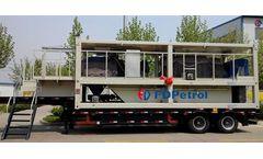 FD Petrol - Mobile Cuttings Treatment Unit