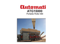 Automatic - Model ATG15000 - Portable Roller Mill - Manual