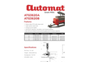 Automatic - Model ATG3620A & ATG3620B - Auger Discharge for Large Capacity PTO Trailer Mills - Datasheet