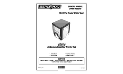 Berco - Model 700423-2 - 40Inch Winter Cab for Lawn and Garden Tractor - Manual