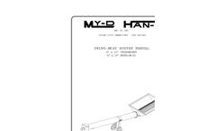 My-D-Han-D - Utility Augers - Brochure