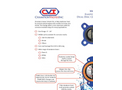 Model CVL - Elastomer Lined Dual Disc Check Valve - Brochure