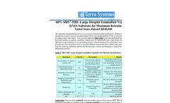 SRS - Model FRL - Large Droplet Emulsified Vegetable Oil (EVO) Substrate