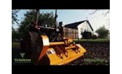 Vrisimo MiniMax Compact Tractor Flail Mower - Only 17 HP Required to Operate - Video