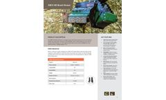 Brushhound - Model 30EX-HD - Excavator Flail Mower - Brochure