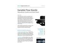 Curtis - Variable Flow Nozzle Brochure
