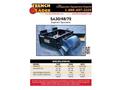 Trench Grader - Model SA30 - Asphalt Spreader Brochure