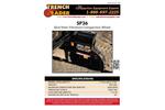 Trench Grader - Model SP36 - Skid Steer Vibratory Compaction Wheel Brochure