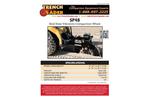 Trench Grader - Model SP48 - Skid Steer Vibratory Compaction Wheel Brochure