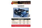 Trench Grader - Model SA72 - Asphalt Spreader Brochure