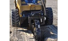 Trench Grader - Model SP42 - Skid Steer Vibratory Compactor Wheel