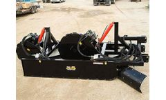Trench Grader - Model T84 - Hydraulic Vibratory Compaction Wheel