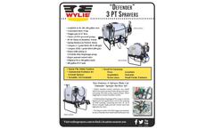 WYLIE - 3-Point Defender Sprayer Brochure