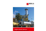 Engine Exhaust Silencer - Brochure