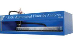 Labfit - Model AS3240 - Robotic Fluoride Analyse
