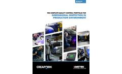 The Complete Solution for Dimensional Inspection in Quality Control Applications - Brochure