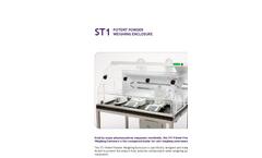 Model ST1 - Potent Powder Weighing Enclosure Brochure